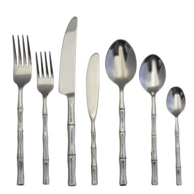 Rattan Flatware Rental for Parties and Special Events.