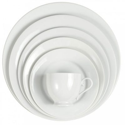 Rent Classic White Dinnerware for any type o occasion.