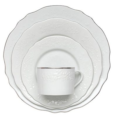 Silver Vine Dinnerware Rental for Special Events in Michigan and Florida
