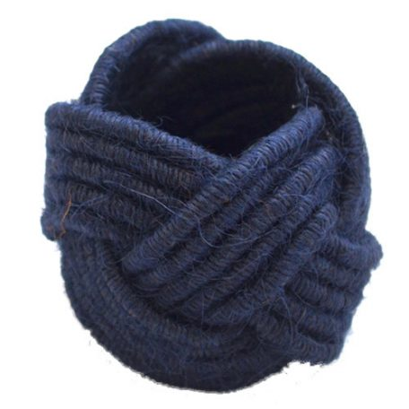 Navy Napkin Ring Rentals from Fabulous Events. Nationwide rentals for all types of events.