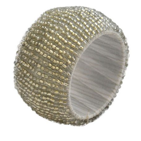 Rent Silver Beaded Napkin Rings from Fabulous Events. Nationwide Shipping.