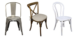 Rent Chairs from Fabulous Events for any type of occasion.
