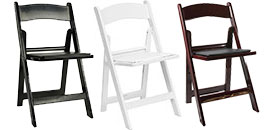 Rent Folding Chairs from Fabulous Events.
