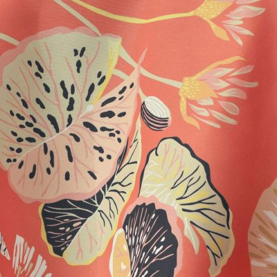 Harbor Island Coral Table Linen for Parties and Events