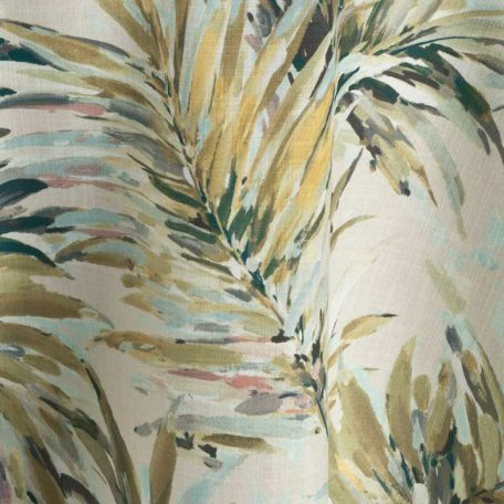 Martinique Palm Tree Table Linen Rental for Events and Special Occasions.
