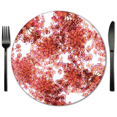 Table Placemat rental from Fabulous Events. Rent these glass placemats for your Wedding or Gala.