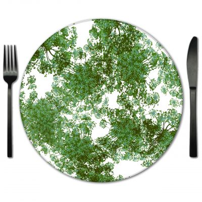 Glass Placemat Rentals for Weddings and events from Fabulous Events