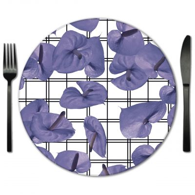 Amazin Glass Placemat Rentals for Galas, Weddings and Special Events.