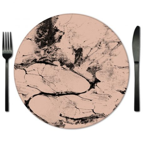 Glass Placemat Rental from Fabulous Events. Rent for Weddings and Special Events.