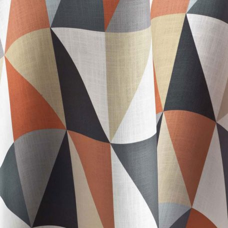 Russet Bauhaus Geometric Table Linen for Events