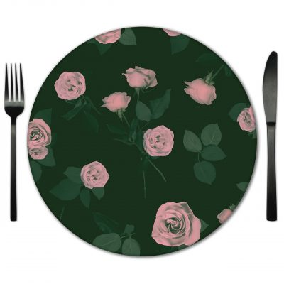 Glass Placemat rental from Fabulous Events. Cal toady to rent for any event nationwide.