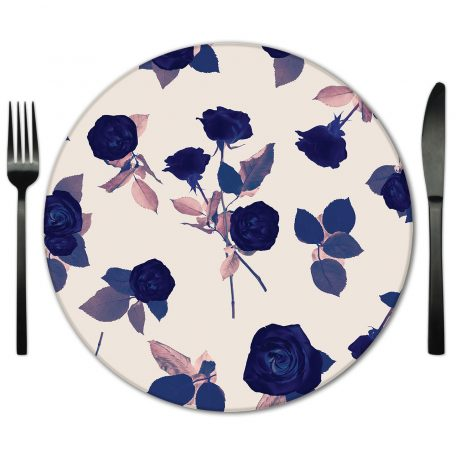 Glass Placemat Rental from Fabulous Events. Rent for weddings and special occasions.