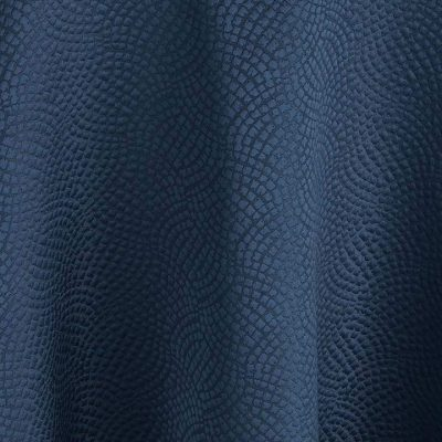 Indigo Mosaic Navy Blue Table Linen for Event Rental