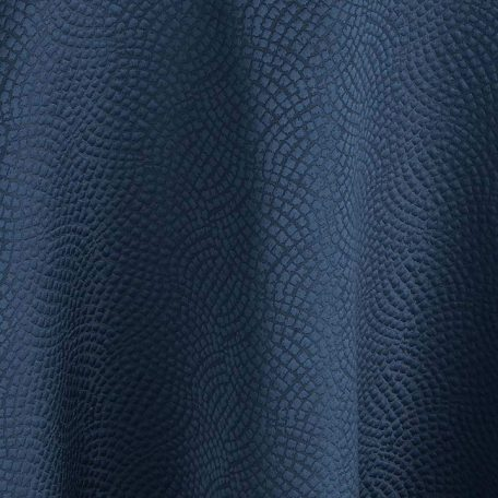 Indigo Mosaic Navy Blue Table Linen for Event Rental