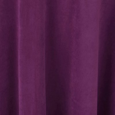 Magenta Velvet Table Linen Rental for Weddings and Events