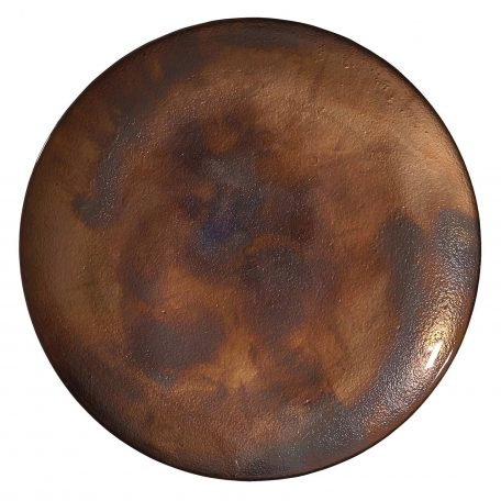 Meridian Bronze Glass Charger