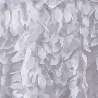 White Petal Taffeta